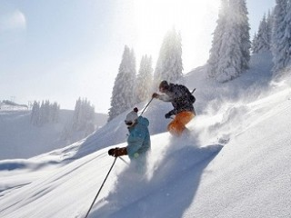 Adventure skiing holiday