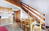 Les Carroz d'Arâches - Résidence Odalys Le Front de Neige : Intérieur d'un logement