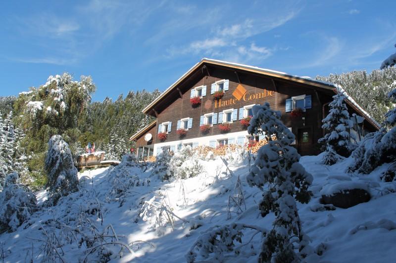 Chalet Haute Combe première neige