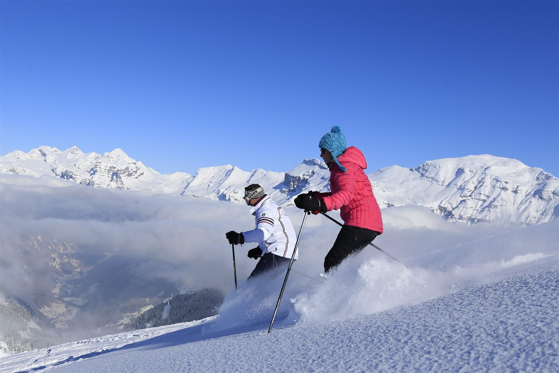forfait ski grand massif 3 jours. Black Bedroom Furniture Sets. Home Design Ideas