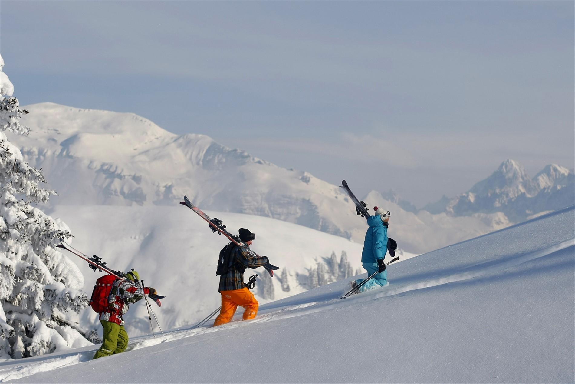 forfait ski grand massif 5 jours. Black Bedroom Furniture Sets. Home Design Ideas