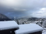Autre vue hiver terrasse