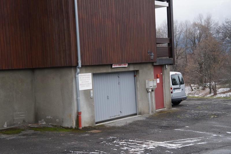 Entrée parking souterrain