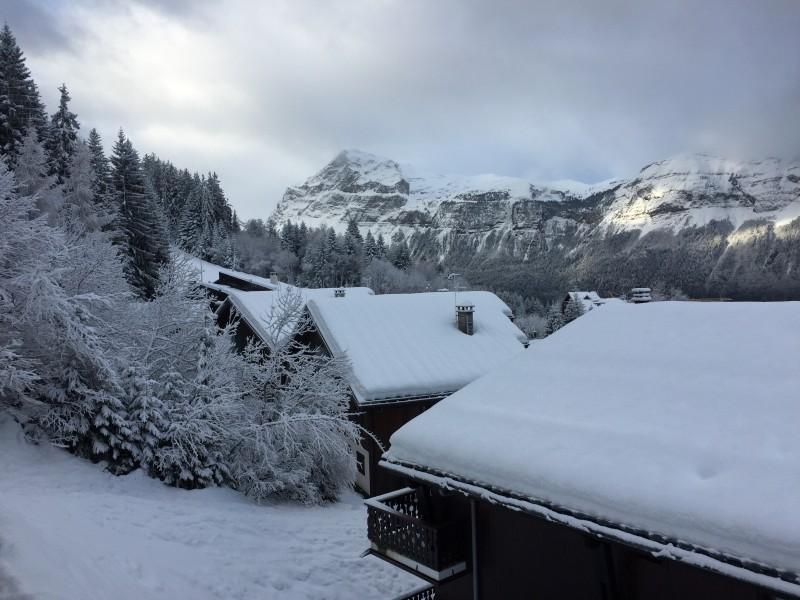 Vue terrasse hiver