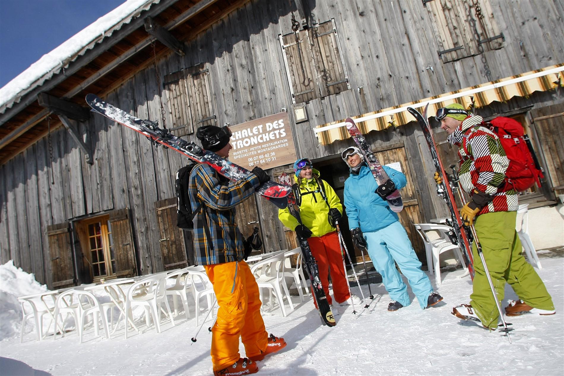 forfait ski grand massif 4 jours. Black Bedroom Furniture Sets. Home Design Ideas
